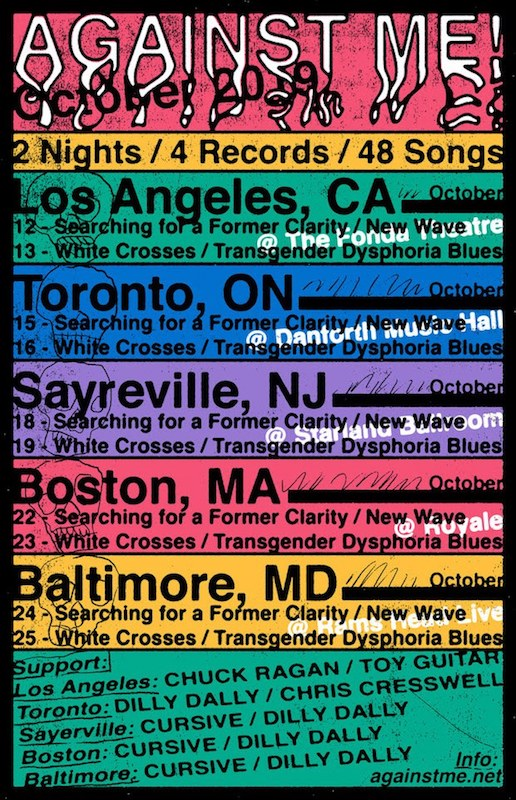 Against Me 2 Nights 4 Records 48 Songs